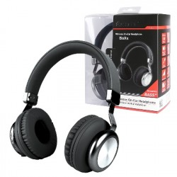 Drahtloser On-Ear Kopfhörer BaXx Schwarz/Silber