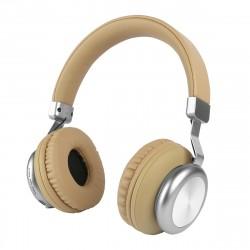 Drahtloser On-Ear Kopfhörer BaXx Beige/Silber