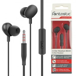 In-Ear Stereo-Headset Beans in Schwarz