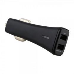 Kfz-Ladeadapter Smart Twin-USB 3.1A in Schwarz