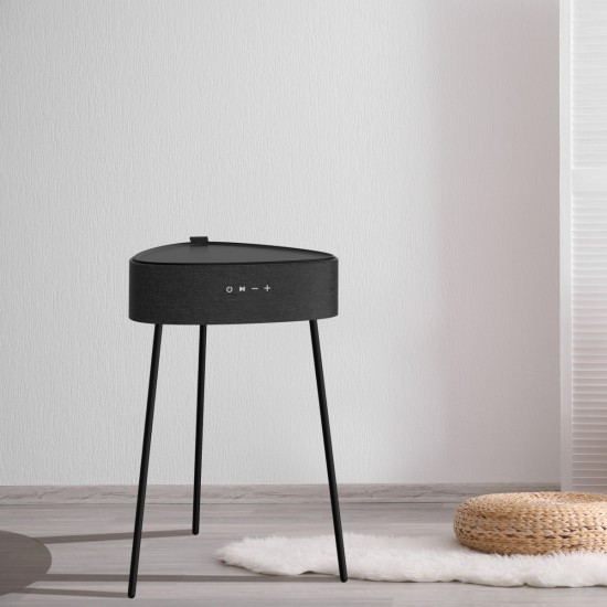 Tisch Lautsprecher Mesu in Schwarz