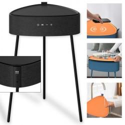Drahtloser Lautsprecher Mesu im Tisch Design sw