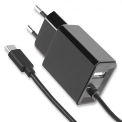 Netzteil Diamond Type-C 1.2m + USB-A schwarz