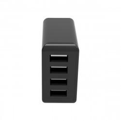 Netzteil Quad Plus 4x USB-A 4.8A / 24Watt schwarz