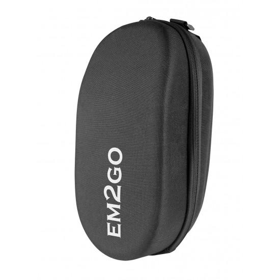 E-Scooter Hartschalen Lenkertasche EM2GO, schwarz