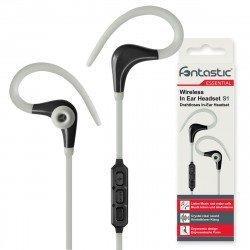 Essential Drahtloses In-Ear Headset S1 grau / sw