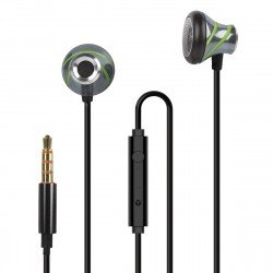 In-Ear Stereo Headset V410 anthracite/green