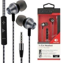In Ear Stereo Headset V465 black / anthracite