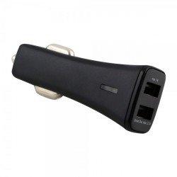 Kfz-Ladeadapter Smart Twin-USB 3.1A schwarz