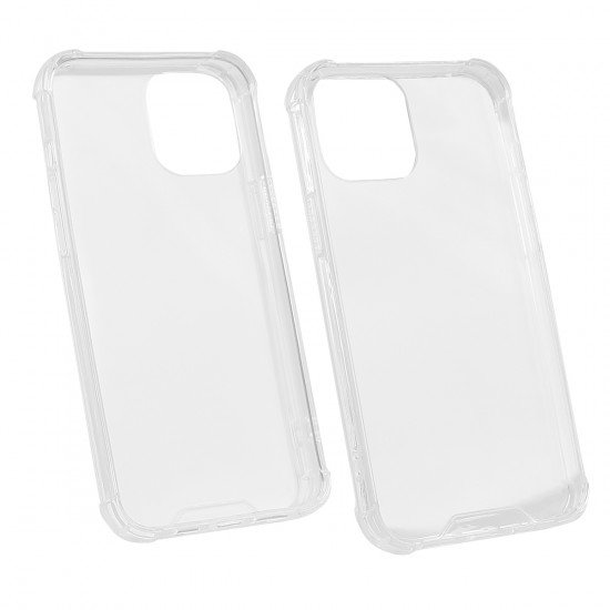 Hybrid Back Cover Clear with Edge Protection comp. with Apple iPhone 12 Pro Max - 6,7