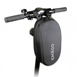 E-Scooter Hard Shell Handlebar Case - EM2GO, black