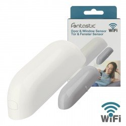 Wi-Fi Door & Window Sensor white comp with Android, iOS