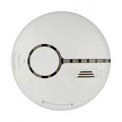 WLAN Rauchwarnmelder weiß 30m² Überwachungsbereich EN14604 zertifiziert, komp. zu Android, iOS