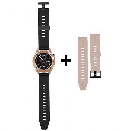 Smarte Armbanduhr FontaFit 500CH Teso rosegold