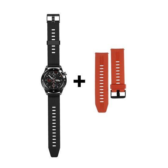 Smarte Armbanduhr FontaFit 500CH Teso schwarz