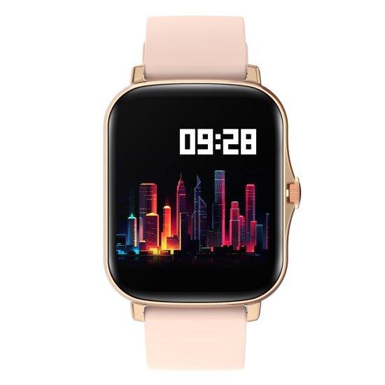 "Smarte Armbanduhr FontaFit 480CH Talis gold 1,69"" Display, Full-Touch, IP67"