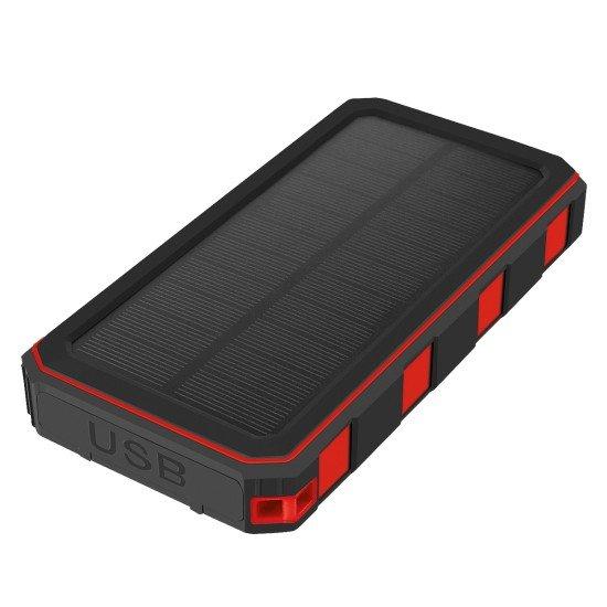 Solar Power Bank Xora20 20000mAh black